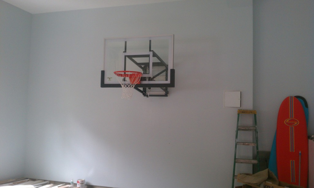 Hoops Plus Let The Games Begin Basketball Wall Amp Roof