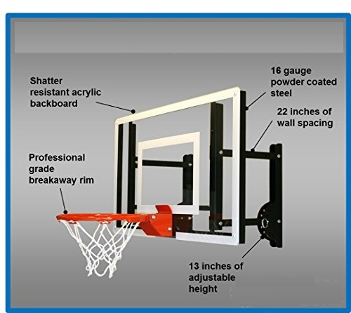 HOOPS PLUS - Let the Games Begin! - Basketball Wall & Roof Mounts